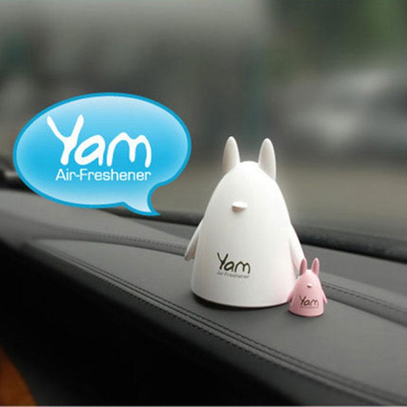 2pcs/pack Home Car fragrance crafts cute animal design car incense perfume Volatile crafts Chinchilla(China (Mainland))