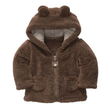 New Fashion Infant Jackets For Girls Style Baby Boy Girl Coat Thick Tops Children Outerwear(China (Mainland))