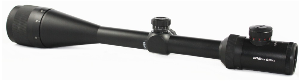 Vector Optics 10 40x50 AOE Hunting Shooting Rifle Scope 1 4 MOA 25 4mm 1 Inch