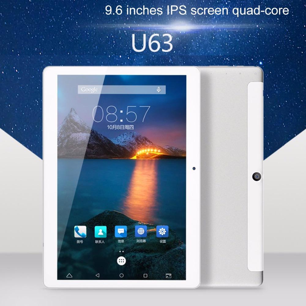 Original Cube Talk 9X U63 9 6 inch Android 5 1 MTK MT6580 Quad Core 3G