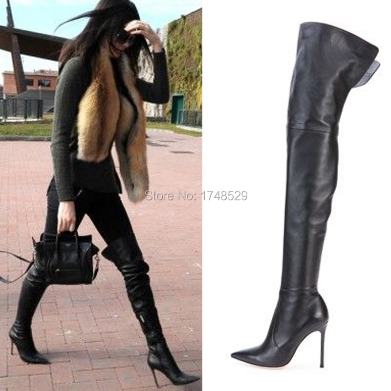 Cheap Thigh High Boots Size 10 - Boot Hto