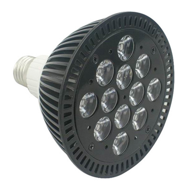 Black 36W LED grow Light Full Spectrum Bulb Par Light For Hydroponic Plant Growth Greenhouse Indoor Garden(China (Mainland))