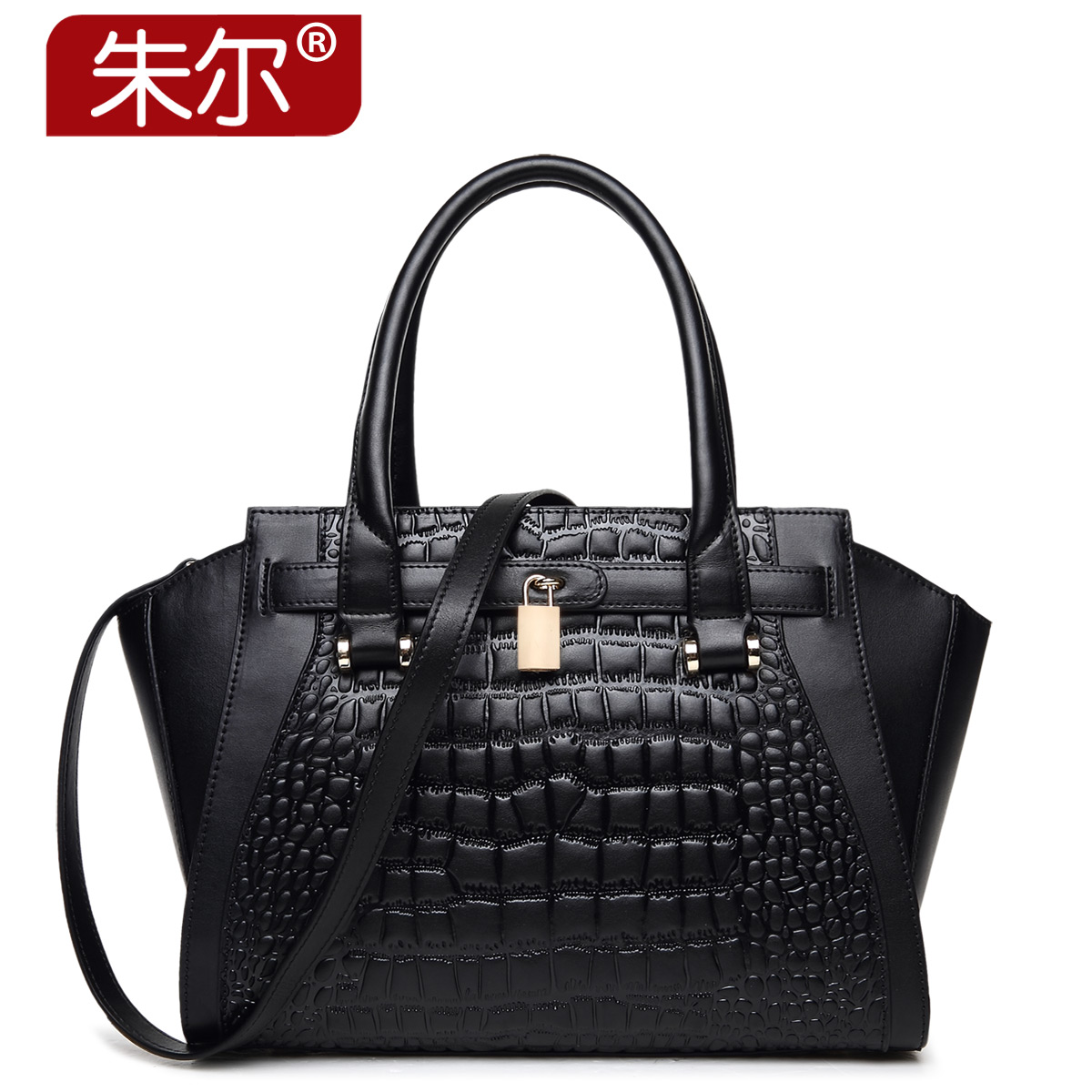 2015 for Crocodile women's cowhide handbag genuine leather fashion one shoulder fashion handbag women's bags autumn bag female