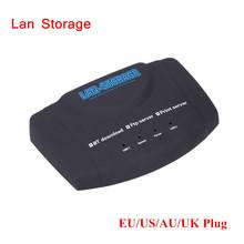 USB Network Storage Nas FTP/Print/Samba/UPnP Media Server BT DLNA DDNS Download EU/US/UK/AU Plug Top Quality(China (Mainland))