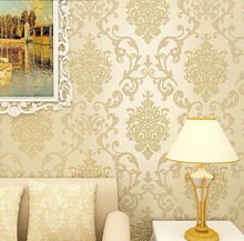 Italian Style Modern 3D Embossed Background Wallpaper For Living Room Silver And Cremay white Wallpaper Roll Desktop Wallpaper
