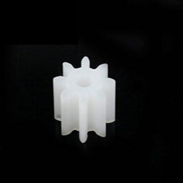 20pcs motor spindle gear 0.5 modulus 1.5mm 8T<br><br>Aliexpress