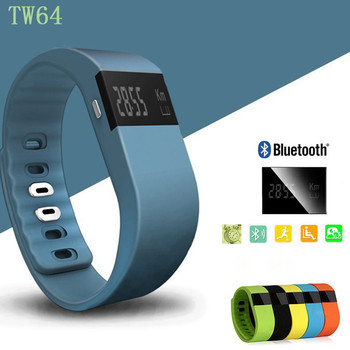 Jw86 Fitness Heart Rate Smart band Smart Bracelet Wristband Tracker Bluetooth 4.0 Watch for ios android (TW64 upgraded version)
