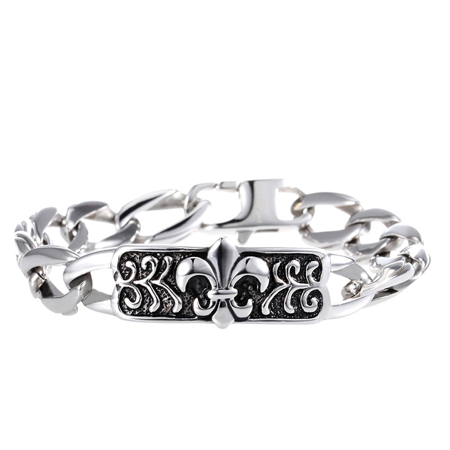 offers a wide selection of China jewelry Manufacturer unique new design fashion titanium cross bracelet for men(China (Mainland))
