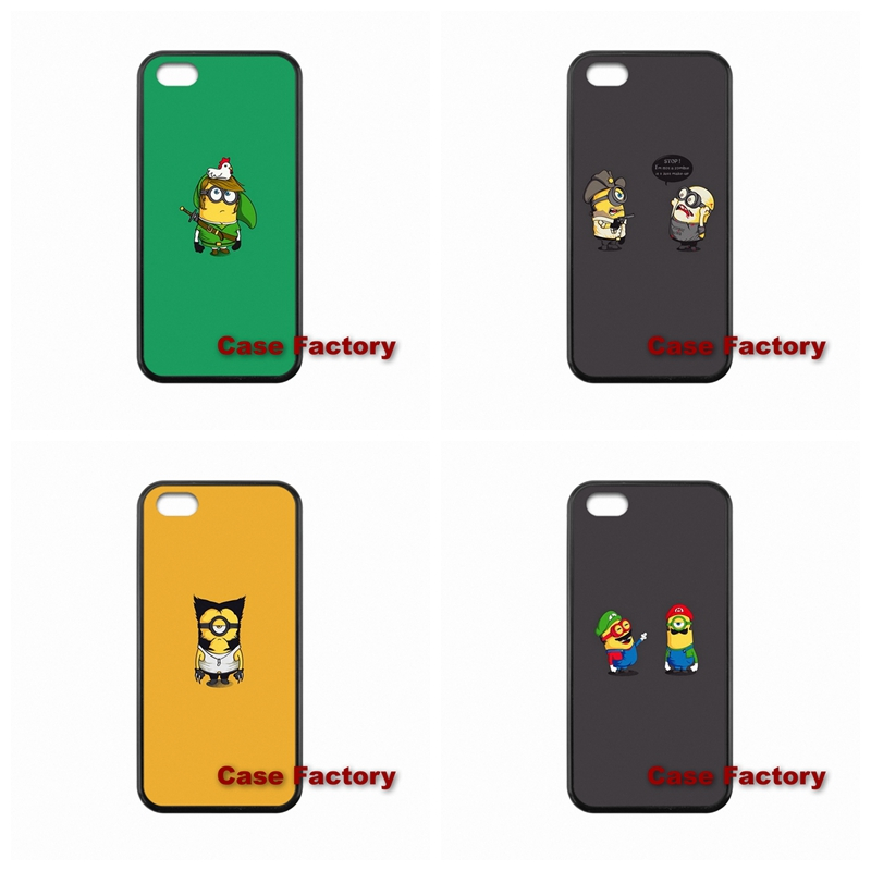 For BlackBerry 8520 9700 9900 Z10 Q10 Samsung S4 S5 S6 Active Win S Duos2 Q version of the small yellow people Wholesale(China (Mainland))
