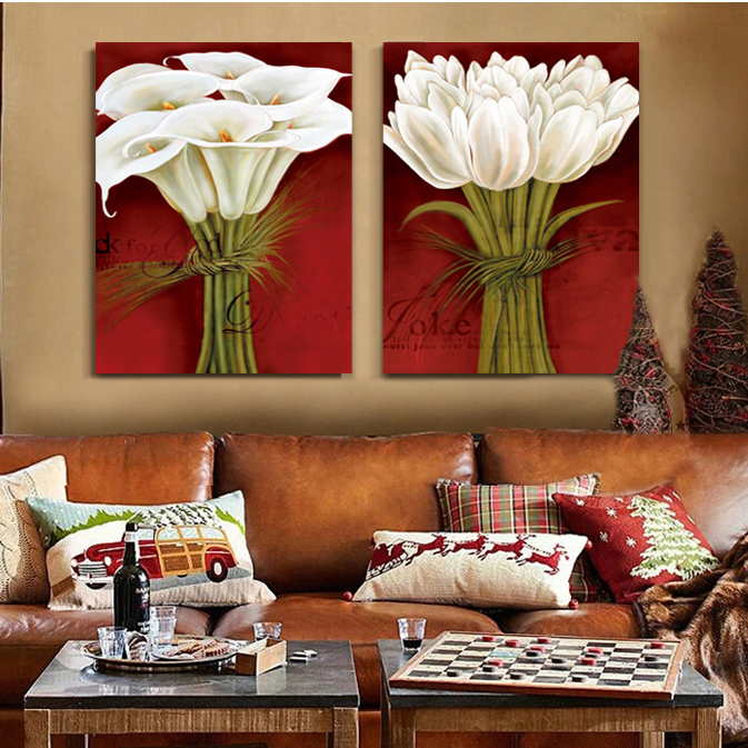 White calla lily and tulip bouquet of flowers still life for Life is good home decor