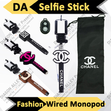 High Quality Monopod Bluetooth Wireless CC Selfie Stick Extendable Sefie Photo Monopie for iPhone IOS Samsung Android(China (Mainland))