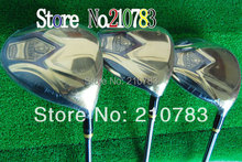 New Golf Clubs Maruman Majesty Prestigio Super7 Golf wood set driver+3 5 Woods Graphite/shaft With Club headcovers Free Shipping(China (Mainland))