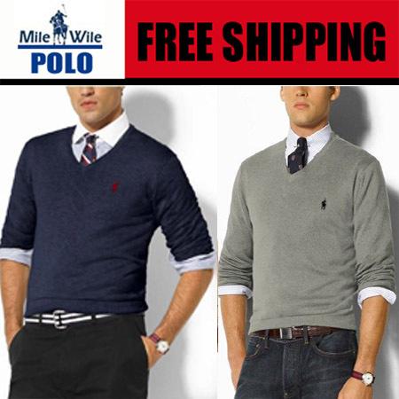 Зима мужчины свитер polo milewile марка пуловер мужчины свитер приталенный с v-образным вырезом camisola dos homens sueter де де-лос-hombres