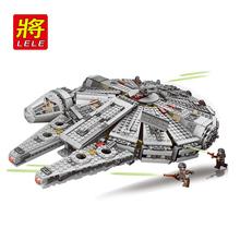 New Star Wars Millennium Falcon Spaceship building blocks set Action Figures Starwars Toys