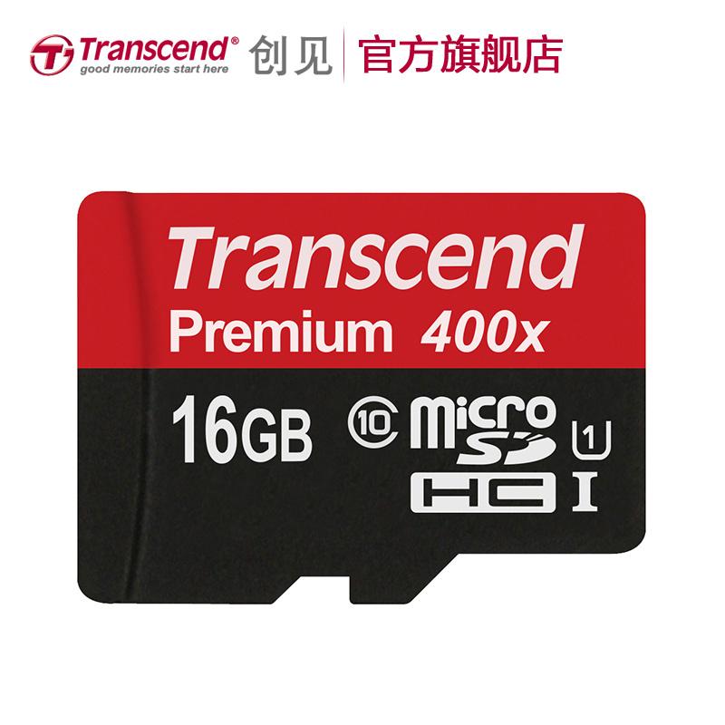 Transcend 400x 60MB s 16GB 32GB 64GB 300x 45MB s 128GB MicroSD MicroSDHC MicroSDXC Micro SD