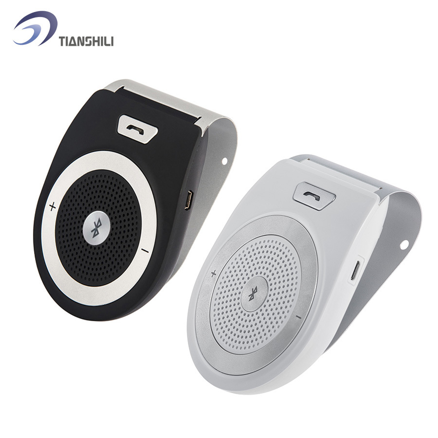 Manos Libres Wireless Bluetooth Handsfree Car Kit Speakerphone Sun visor Clip 10m Distance For iPhone with