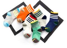 Unisex 3 to 12 years old children boys socks girls Children summer spring autumn breathable socks cotton(China (Mainland))