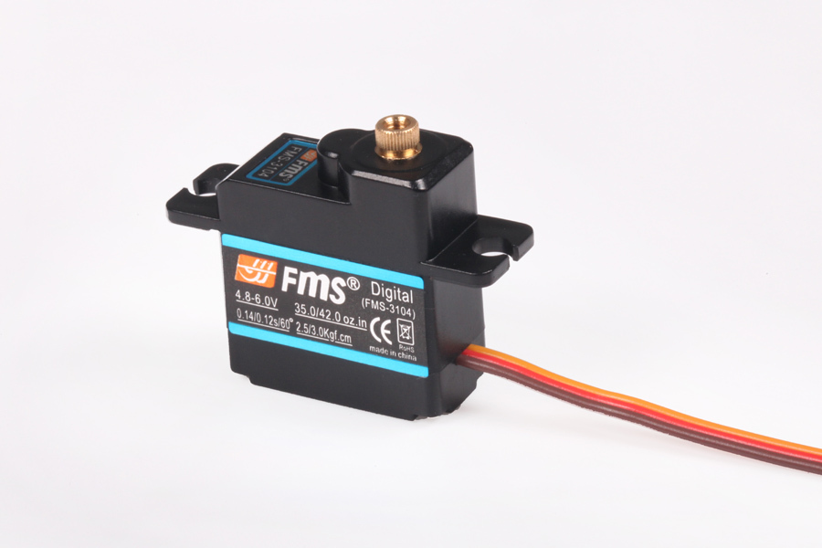 FMS 1400mm / 1.4m F6F 17g servo digital metal gear FMSSER17MGD RC Model Plane Parts HellCat(China (Mainland))