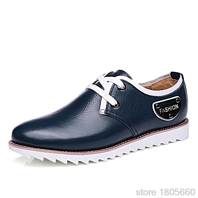 New 2015 Fashion boots summer cool winter warm Men Shoes Leather Shoes Men s Flats Shoes