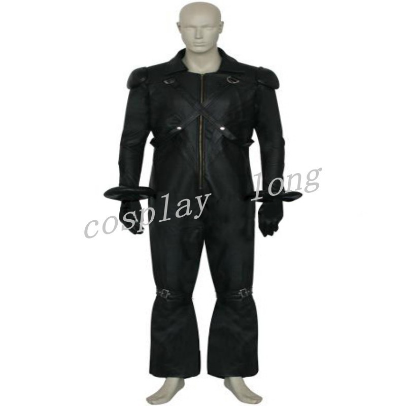Hot Classical Japanese Anime Final Fantasy VII 7 Kadaj Cosplay Costumes Mens Role-playing Holloween Cos Outfits