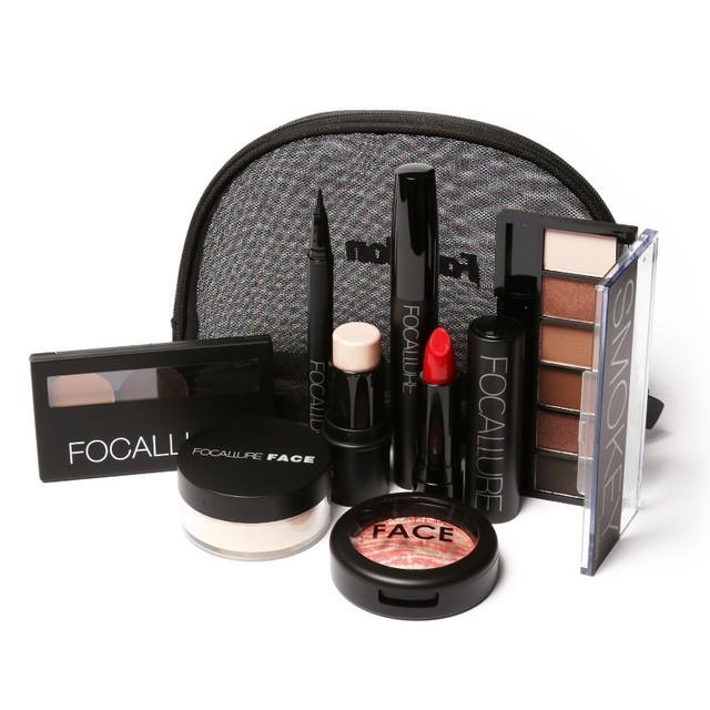 Focallure начать макияж комплект косметика подарочный комплект инструментов для макияжа подарок 8 шт. один комплект