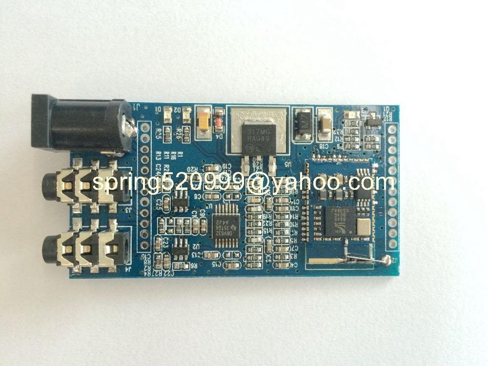 Brand new APT-X Bluetooth 4.0 Audio Receiver Board Wireless Stereo Music Module AUX(China (Mainland))