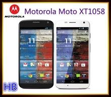 "Unlocked Original Motorola Moto X XT1058 Cell Phone Android Smartphone GPS WIFI 3G 4G 4.7"" Touch 10MP Camera Free Shipping"