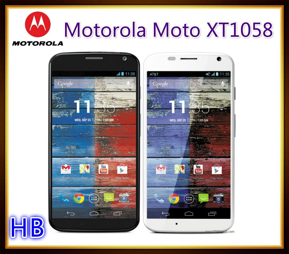 Unlocked Original Motorola Moto X XT1058 Cell Phone Android Smartphone GPS WIFI 3G 4G 4.7'' Touch 10MP Camera Free Shipping(China (Mainland))
