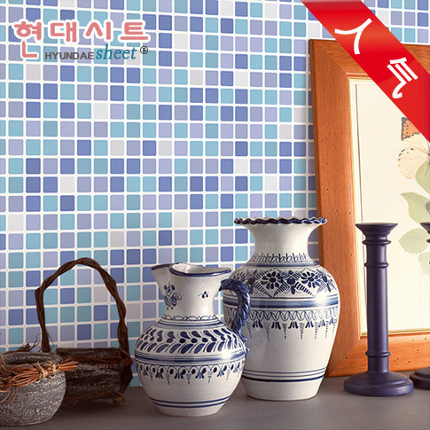 Wall paper mosaic tile Waterproof wallpapers for bathroom kitchen PVC wall stickers Plastic vinyl self adhesive wallpaper roll v(China (Mainland))