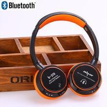 2015 New Fashion headphones ZEALOT B-370 headset Bluetooth headphone support TF Card FM MP3 player stereo sports headphone(China (Mainland))