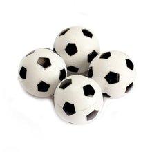 SEWS 4pcs 32mm Plastic Soccer Table Foosball Ball Football Fussball(China (Mainland))