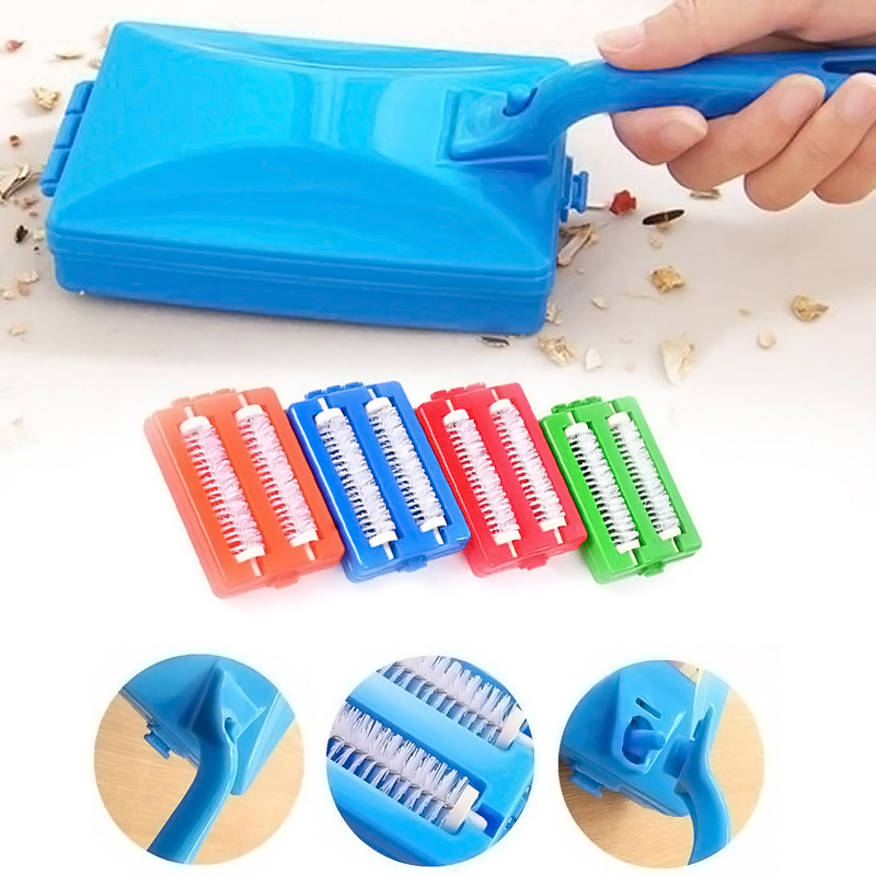 Brushes Heads Handheld Carpet Table Sweeper Crumb Brush Cleaner Roller Tool Home Cleaning Brushes Accessaries ZH01557(China (Mainland))