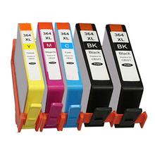 5x HP 364 XL CHIPPED Ink Cartridge for Photosmart DeskJet 3070A 3520 Photosmart 5510 5520 6510 6520 7510 7520 Printer