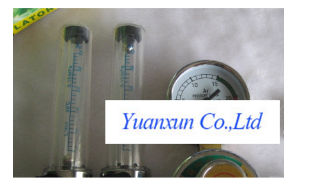 Welding machine accessories Argon welding accessories table argon pressure reducer twin dual-tube meter table table
