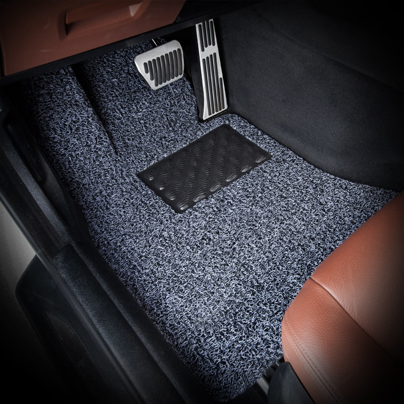LUNDA 1pc Car Floor Mats Universal Fit Front & Back Driver Seat Duty for Car SUV Van and Truck 4 color(Hong Kong)