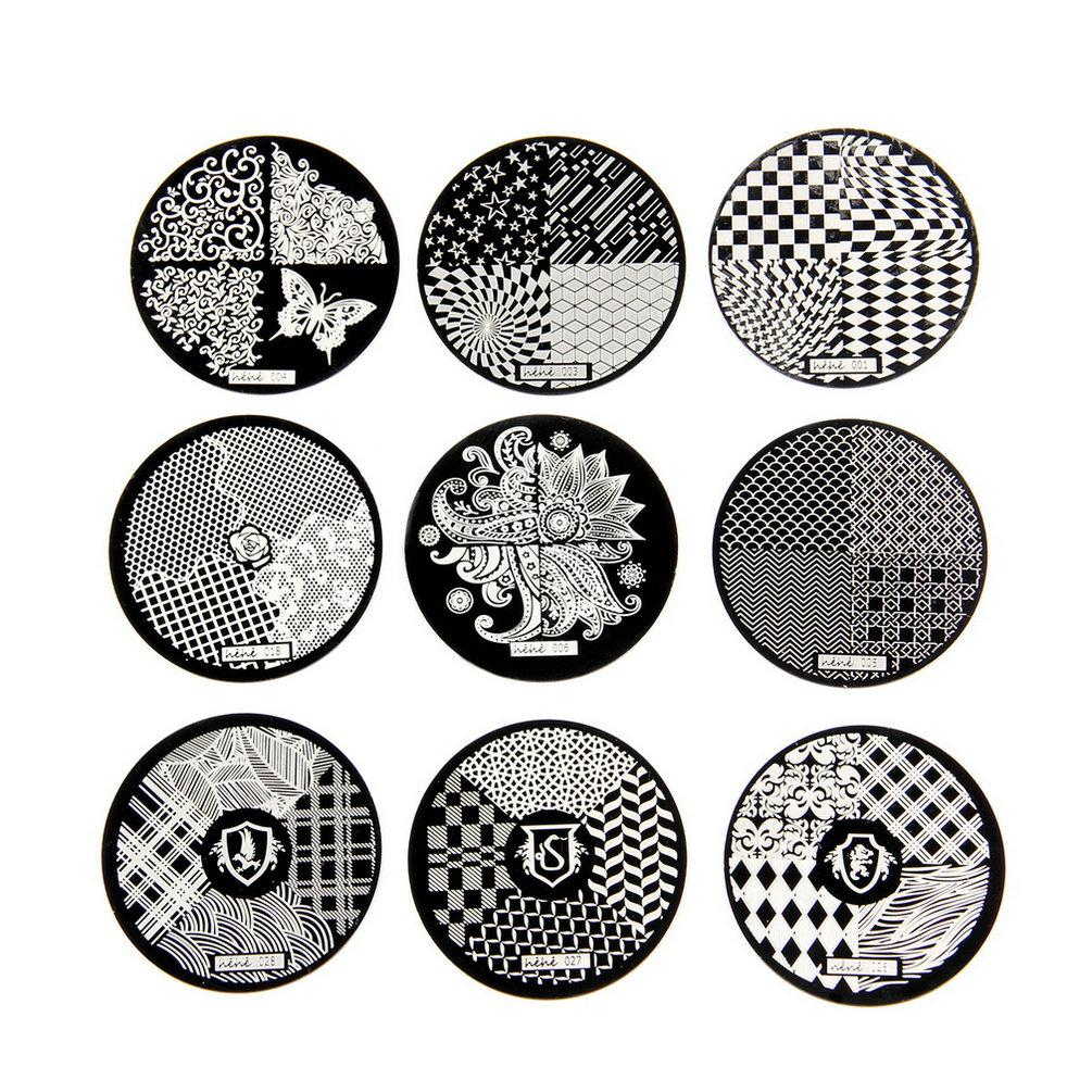 1pc Retail New Fashion DIY Polish Design Nail Art Stamping Image Plates Stamp Printing Palette Templates Care Tools Hot Sale(China (Mainland))