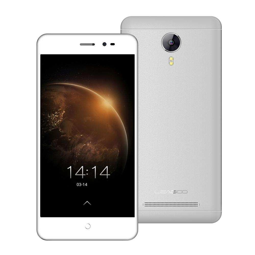 Original Leagoo Z5 5.0 Inch 3G WCDMA Android 6.0 Smartphone MT6580M Quad Core 1GB RAM+8GB ROM 5.0MP Cell Phone Dual SIM(China (Mainland))