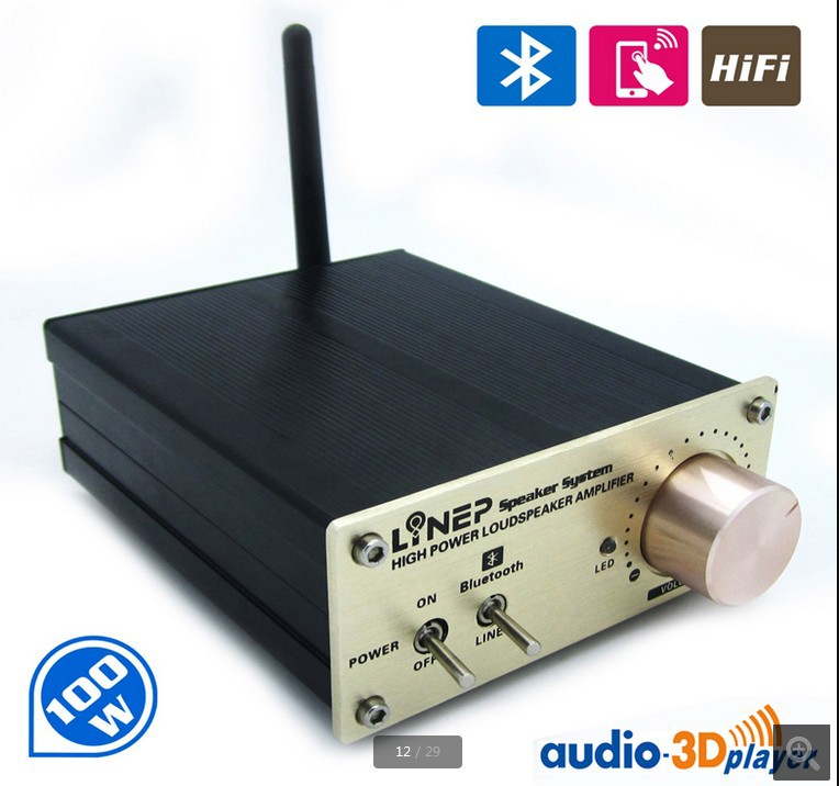 Аудио усилитель Bluetooth Amplifier Bluetooth 100W Bluetooth hi/fi A965 20pcs 2sa965 a965 965 to92