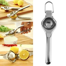 Top Sale Kitchen Bar Stainless Steel Lemon Orange Lime Squeezer Juicer Hand Press Tool(China (Mainland))