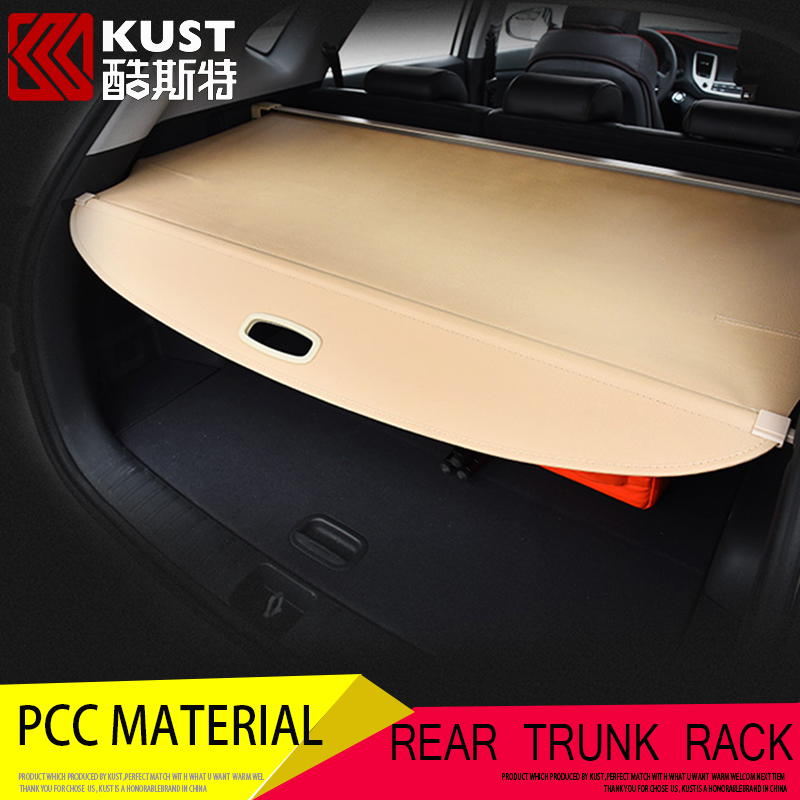 KUST Rear Trun Rocks For Hyundai For Tucson Interior Accessories Trunk Tidy Rear Rack Luggage Support Rod For Tucson 2015 2016(China (Mainland))