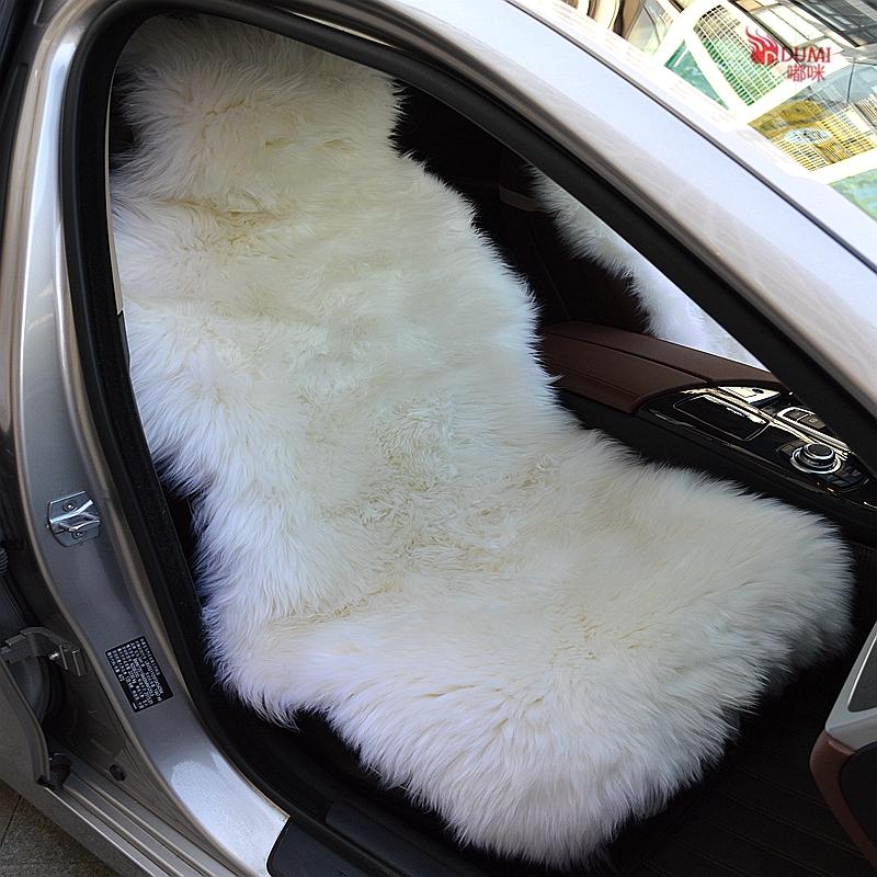fur car seat covers. Black Bedroom Furniture Sets. Home Design Ideas