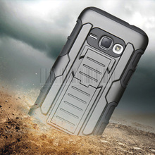 Buy Heavy Duty Armor Impact Hybrid Shockproof Hard Case Cover+Holdster Belt Clip Samsung Galaxy J1 2016 J120 J120F J120H for $3.78 in AliExpress store