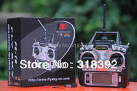 FS FlySky FS-T6 FS T6 2.4G Digital Proportional 6 Channels Transmitter & Receiver w/ LED Screen Mode 1/2 Free shippin helikopter