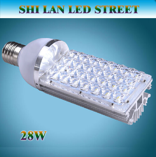 e40 led street lights 28w 85-265v outdoor light with garden lamps 28LEDS(China (Mainland))