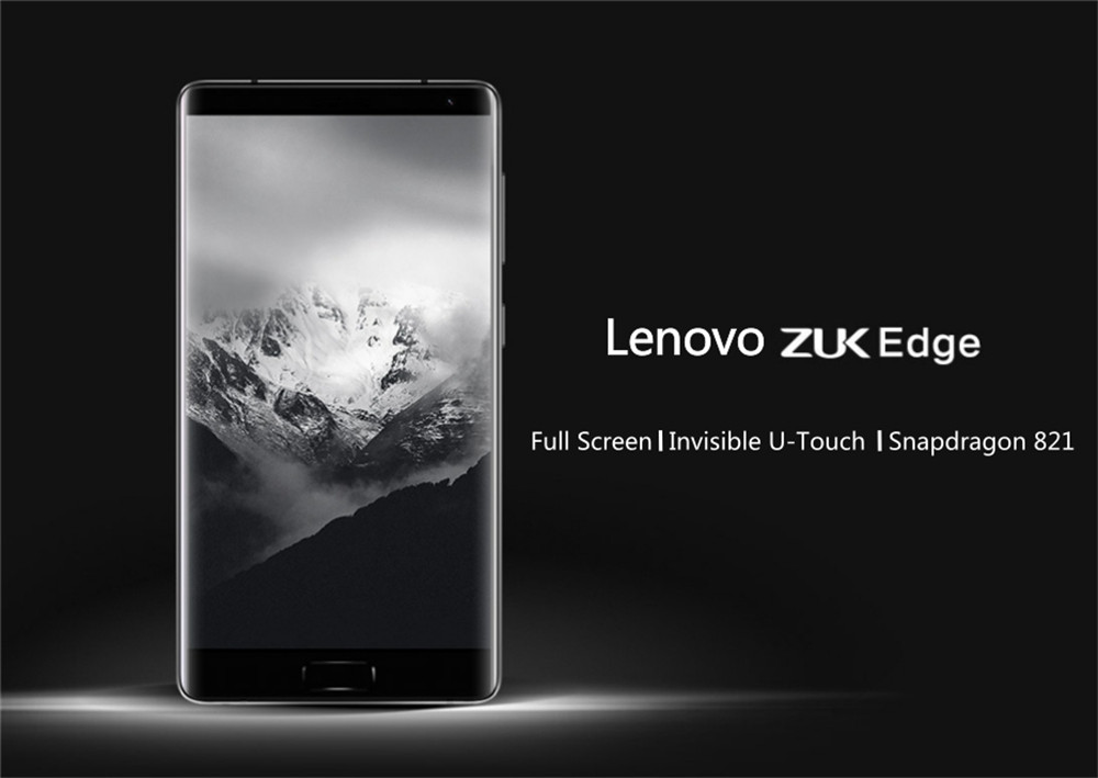 image for Original New Lenovo ZUK Edge Mobile Phone Snapdragon 821 Quad Core 2.3