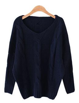 Осень и зима женщин свитер и пуловер женщины пончо вязание свитера женщины 2015 # fw028