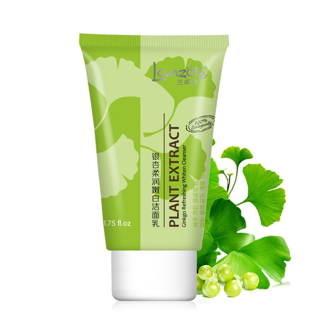 1pcs New arrival moisturizing whitening face cleanser whitening beauty skin care products skin cleaner facial cleanser(China (Mainland))