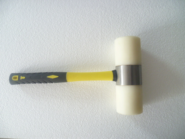 Nylon Hammer , the head used to protect the striking surface from damage , hardware hand tools(China (Mainland))