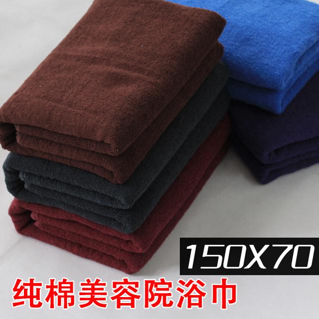 Y1250 100% cotton bath towel bed sheets big towel foot products