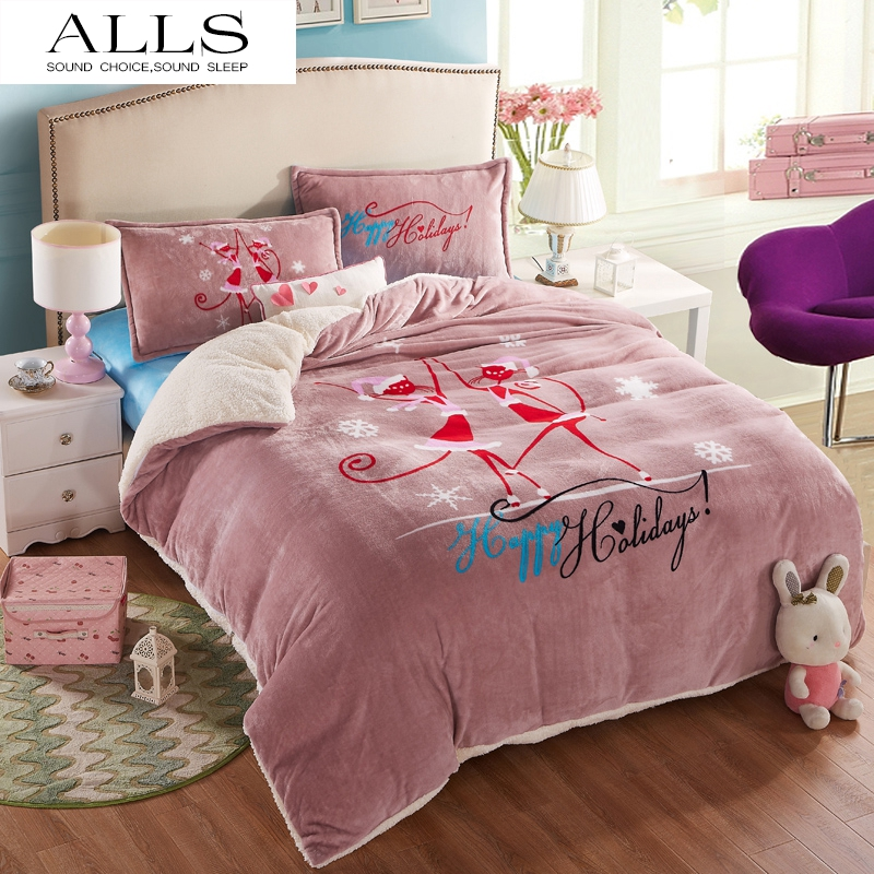 Online Get Cheap Christmas Holiday Bedding